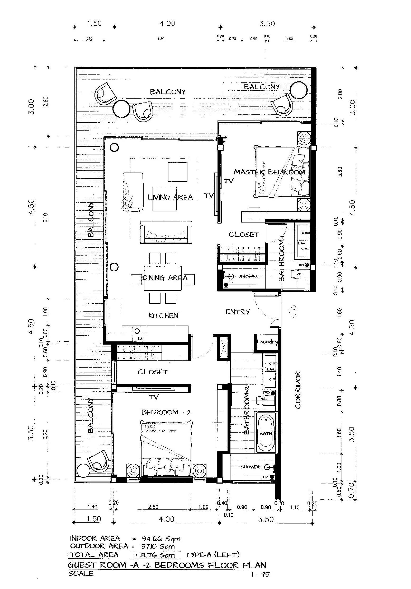 Chariya Floorplan