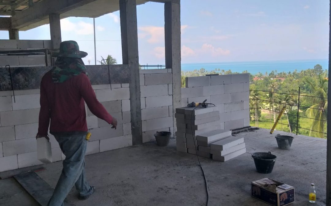 October 19th 2019 Construction update